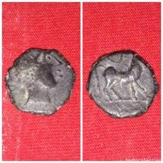 Monedas ibéricas: MONEDA IBERICA DE CASTULO CUADRANTE CAZORLA JAÉN 180 A.C 27 D.C. Lote 100327134