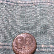 Monedas ibéricas: AS DE TARRACO TARRAGONA DE TIBERIO CON GERMÁNICO Y DRUSO. Lote 105990890