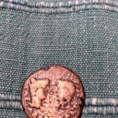 Monedas ibéricas: AS DE COLONIA ROMULA SEVILLA TIBERIO CON GERMÁNICO Y DRUSO. Lote 105991226