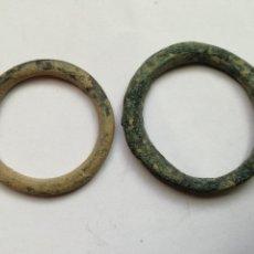 Monedas ibéricas: PREMONEDA CELTA, GRAN TAMAÑO, (X2). 6,65GRM, 31MM, LA GRANDE BRONCE. Lote 110028503