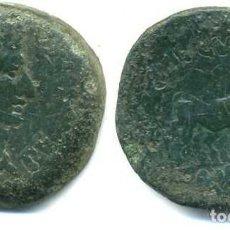 Monedas ibéricas: EMERITA AUGUSTA, AS 24 M/M. AUGUSTO Y YUNTA. Lote 114687411