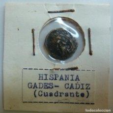Monedas ibéricas: HISPANIA. GADES. CÁDIZ. CUADRANTE. Lote 115473751