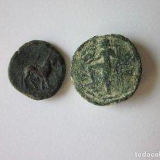 Monedas ibéricas: 2 SEMIS IBÉRICOS: CASTELE Y CARTEIA.. Lote 122138991