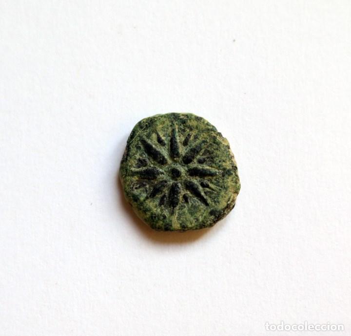 RARO SEXTANTE MALAKA MALAGA S.II A.C. (Numismática - Hispania Antigua - Moneda Ibérica no Romanas)