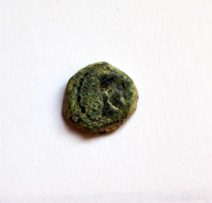 Monedas ibéricas: RARO SEXTANTE MALAKA MALAGA S.II A.C. - Foto 2 - 133579706