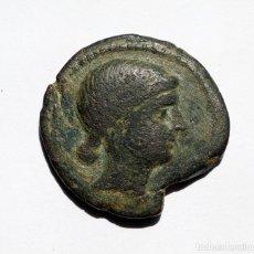 Monedas ibéricas: ESCASA DOBLE UNIDAD OBULCO / IPOLKA PORCUNA (JAEN) S. III A.C.. Lote 133724878