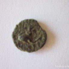Monedas ibéricas: RARÍSIMO CUADRANTE DE SAITI. IKORTAS-SAITIR. AMORCILLO SOBRE DELFÍN Y PELTA.. Lote 135077266