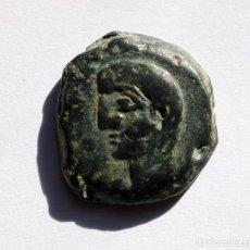 Monedas ibéricas: ESCASO SEMIS CASTULO / KASTILO CAZLONA (JAEN) 180 A.C.. Lote 136631686