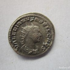 Monedas ibéricas: VALERIANO II . MAGNIFICO ANTONINIANO DE PLATA. Lote 137220866
