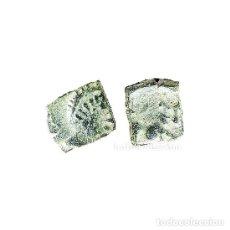 Monedas ibéricas: SEXTANTE DE CASTULO. TORO Y CRECIENTE, SIGLO II A.C. (463 - L). Lote 143901009