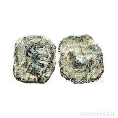 Monedas ibéricas: SEXTANTE DE CASTULO. TORO Y CRECIENTE, SIGLO II A.C. (472 - L). Lote 143901356