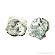 Monedas ibéricas: SEXTANTE DE CASTULO. TORO Y CRECIENTE, SIGLO II A.C. (473 - L). Lote 143901853