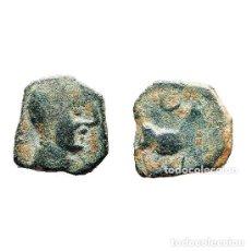 Monedas ibéricas: SEXTANTE DE CASTULO. TORO Y CRECIENTE, SIGLO II A.C. (476 - L). Lote 143901968