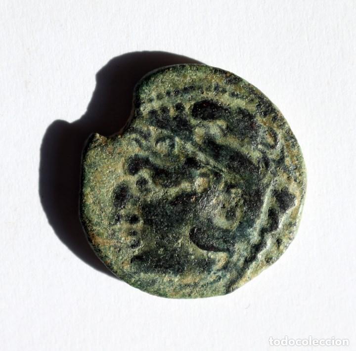 Monedas ibéricas: PRECIOSO AS GADES / GADIR CADIZ 100-20 A.C. - Foto 2 - 144986814