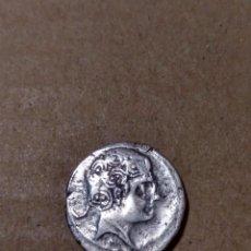 Monedas ibéricas: DENARIO DE SECOBIRICES SEGOBRIGA CUENCA. Lote 147495850