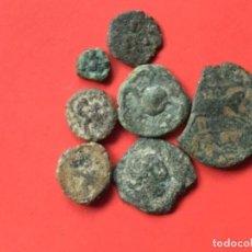 Monedas ibéricas: *NUMA*L.-4.-4 CALCOS EBUSUS - 2 PLOMO-CARISSA-CORDUBA Y CC.AA -VER FOTOS Y PUJEN.*NUMA*. Lote 147865506