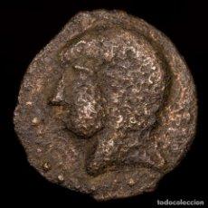 Monedas ibéricas: HISPANIA ANTÍGUA. CARISSA (BORNOS, CÁDIZ), SEMIS 100-50 A.C. JINETE. Lote 148200344