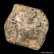 Monedas ibéricas: OBULCO (PORCUNA, JAEN). SEMIS DE BRONCE II SIGLO AC. TORO CRECIENTE. Lote 148940578