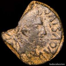 Monedas ibéricas: AUGUSTO (27AC-14DC) AS, SEGOBRIGA (CUENCA) JINETE LANCERO. MUY RARA. Lote 151689600