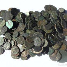 Monedas ibéricas: LOTE DE 209 MONEDAS. ESPAÑA. A IDENTIFICAR, LIMPIAR Y EXPERTIZAR. VER FOTOS . Lote 155224786