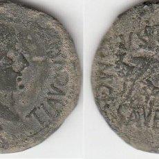 Monedas ibéricas: MONEDA DE CALAGURRIS. AS. TIBERIO. Lote 156975458