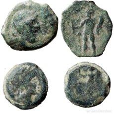 Monedas ibéricas: HISPANIA ANTÍGUA. CORDUBA. (2) Æ SEMIS 50 A.C.(99-LM). Lote 161919229