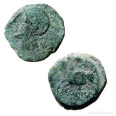 Monedas ibéricas: HISPANIA ANTÍGUA. CARISSA (BORNOS, CÁDIZ). SEMIS 50 AC.(123-LM). Lote 161922525