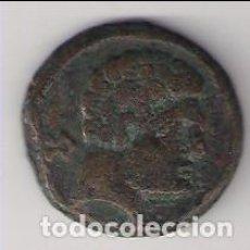 Monedas ibéricas: AS DE BELCHITE (ZARAGOZA) DE 120 A 20 A.C. COBRE. MBC-/MBC. CATÁLOGO FAB-166. (MIB1). Lote 168591800