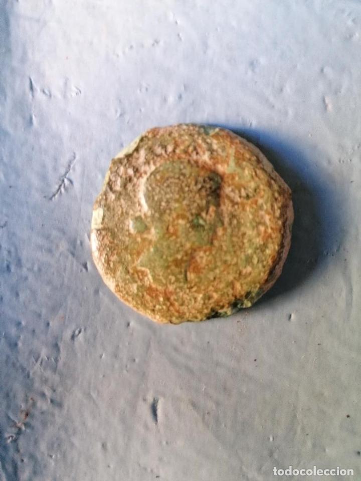 Monedas ibéricas: DUPONDIO DE LIVIA CON REVERSO SENTADA EN SILLA MERIDA EMERITA - Foto 4 - 177749913