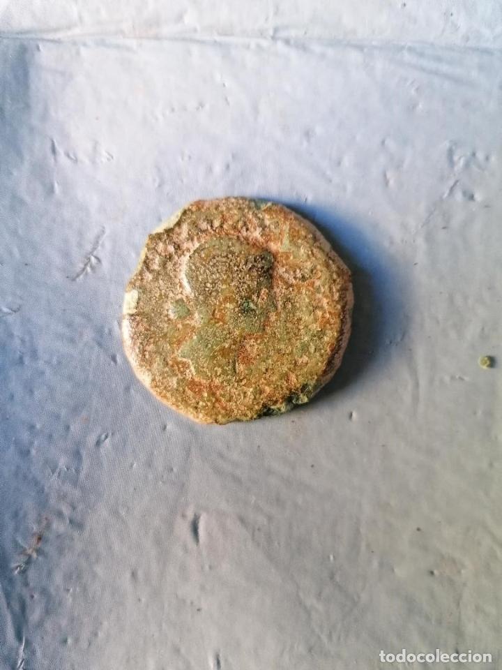 Monedas ibéricas: DUPONDIO DE LIVIA CON REVERSO SENTADA EN SILLA MERIDA EMERITA - Foto 5 - 177749913