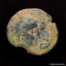 Monedas ibéricas: CASTULO.(LINARES, JAÉN), AS, CRECIENTE - ESTRELLA. Lote 183974533