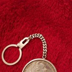 Monedas ibéricas: PRECIOSA MONEDA Y LLAVERO IMPERIO AUSTRIACO PLATA DE LEY. Lote 184005593