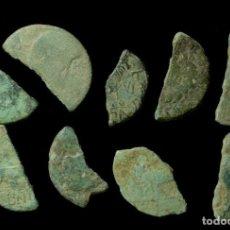 Monedas ibéricas: LOTE DE 9 MONEDAS IBÉRICAS. Lote 184202822