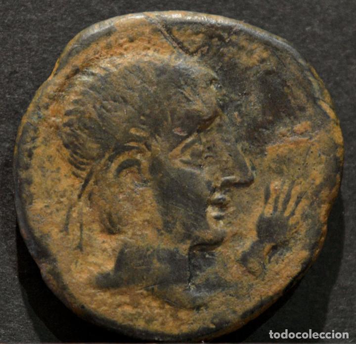 BONITO AS CASTULO CASTELE JAÉN LINARES (Numismática - Hispania Antigua - Moneda Ibérica no Romanas)