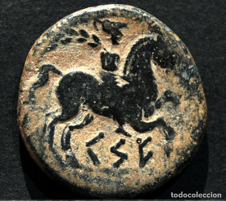 Monedas ibéricas: AS KESE O CESE TARRAGONA SIMBOLO ANFORA - Foto 3 - 172244253