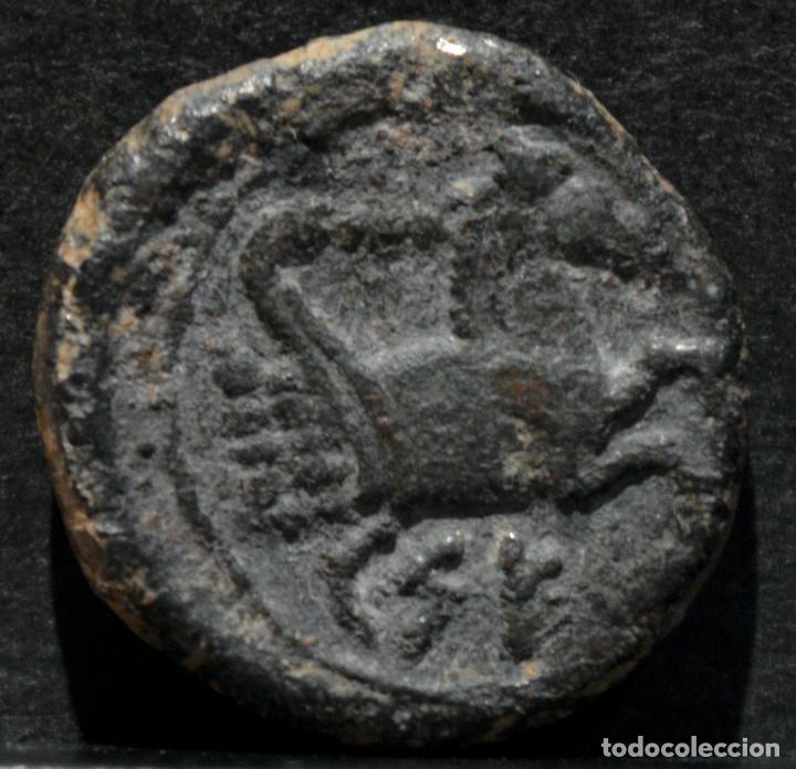 CUADRANTE DE KESE TARRAGONA RARO (Numismática - Hispania Antigua - Moneda Ibérica no Romanas)