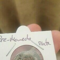Monedas ibéricas: RARA PREMONEDA PLATA NUMEROS ROMANOS. Lote 185973853