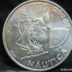 Monedas ibéricas: MONEDA DE PLATA-PORTUGAL 10 EURO 2003 NAUTICA VZ SIN CÁPSULA. Lote 187461222