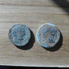 Monedas ibéricas: LOTE DE 2 ASES DE SECAISA DIFERENTES.. Lote 190093192