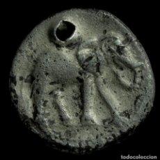 Monedas ibéricas: 1/4 SICLO HISPANO CARTAGINES DE PLATA - 11 MM / 1.58 GR.. Lote 190120850