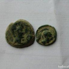 Monedas ibéricas: LOTE DE AS Y SEMIS DE CASTULO.. Lote 195050096
