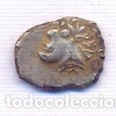 Monedas ibéricas: RARISIMA MONEDA CREO QUE ES UNA IMITACION GALA O BARBARA NO TENGO NI IDEA. Lote 195317323