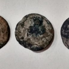 Monedas ibéricas: LOTE ( RARAS 3 MONEDAS POR CLASIFICAR ). MÁS MONEDAS ANTIGUAS EN MI PERFIL.. Lote 197753337