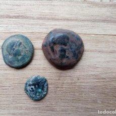 Monedas ibéricas: LOTE DE 3 MONEDAS IBERICAS .. Lote 198123782