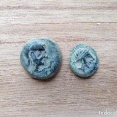 Monedas ibéricas: LOTE DE 2 BONITOS SEMIS DEL TORILLO.. Lote 198329975