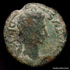 Monedas ibéricas: HISPANIA ROMANA AUGUSTO AS CARTAGONOVA (CARTAGENA) INSTRUMENTOS. Lote 198503260