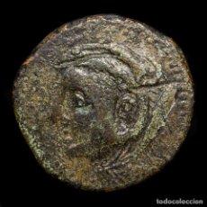 Monedas ibéricas: HISPANIA SEXI (ALMUÑECAR GRANADA) AS 120-50 A.C. HERCULES / ATUNES. Lote 198531736