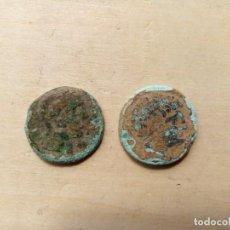Monedas ibéricas: LOTE DE 2 ASES DE SECAISA Y TITIACOS.. Lote 198548966