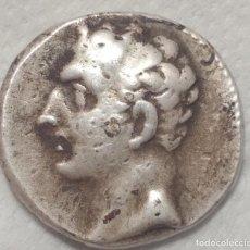 Monedas ibéricas: HISPANIA ANTIGUA CICLO CARTAGINÉS AÑO 218-210-A.C GUERRAS PÚNICAS PESO 7,35 GRAMOS EN PLATA. Lote 203353093