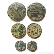 Monedas ibéricas: LOTE MONEDAS IBERICAS DE LA COLONIA PATRICIA, AS, SEMIS Y CUADRANTE.. Lote 204692980